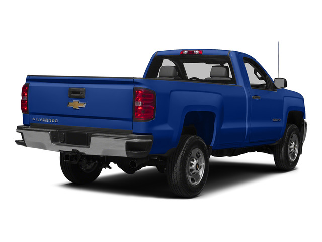 Blue Topaz Metallic 2015 Chevrolet Silverado 2500HD Pictures Silverado 2500HD Regular Cab LT 2WD photos rear view