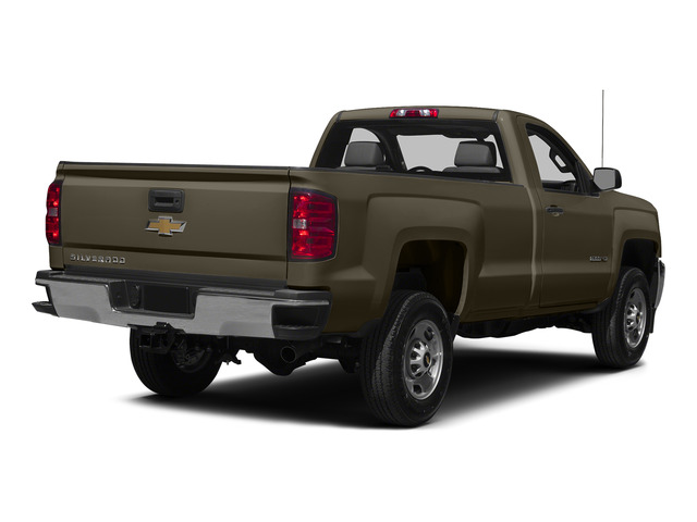 Brownstone Metallic 2015 Chevrolet Silverado 2500HD Pictures Silverado 2500HD Regular Cab LT 2WD photos rear view
