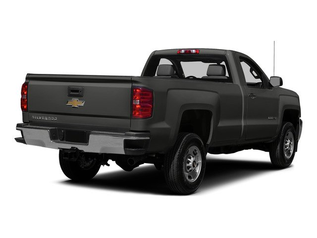 Tungsten Metallic 2015 Chevrolet Silverado 2500HD Pictures Silverado 2500HD Regular Cab LT 2WD photos rear view