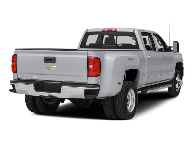 Silver Ice Metallic 2015 Chevrolet Silverado 3500HD Pictures Silverado 3500HD Crew Cab LTZ 2WD photos rear view