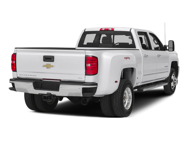 Summit White 2015 Chevrolet Silverado 3500HD Pictures Silverado 3500HD Crew Cab LTZ 2WD photos rear view