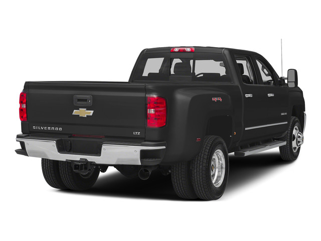 Black 2015 Chevrolet Silverado 3500HD Pictures Silverado 3500HD Crew Cab LTZ 2WD photos rear view
