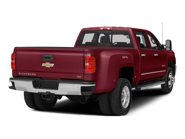Deep Ruby Metallic 2015 Chevrolet Silverado 3500HD Pictures Silverado 3500HD Crew Cab LTZ 2WD photos rear view