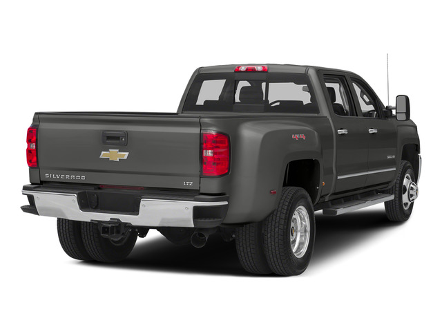 Tungsten Metallic 2015 Chevrolet Silverado 3500HD Pictures Silverado 3500HD Crew Cab LTZ 2WD photos rear view