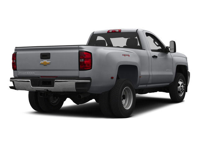 Silver Ice Metallic 2015 Chevrolet Silverado 3500HD Pictures Silverado 3500HD Regular Cab LT 4WD photos rear view