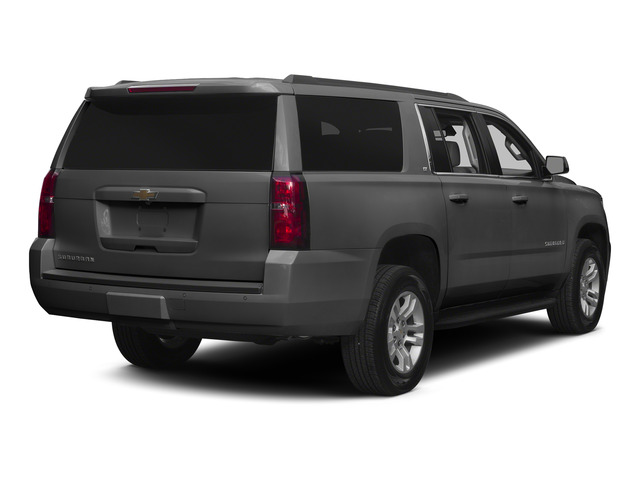 Slate Grey Metallic 2015 Chevrolet Suburban Pictures Suburban Utility 4D LT 4WD V8 photos rear view
