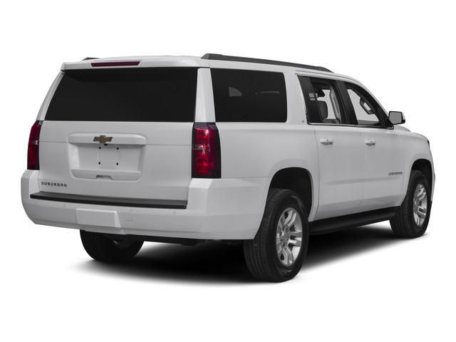 Summit White 2015 Chevrolet Suburban Pictures Suburban Utility 4D LT 4WD V8 photos rear view