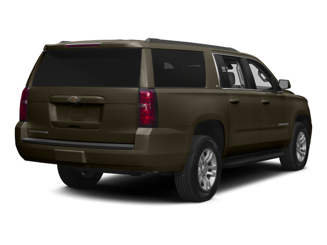 Brownstone Metallic 2015 Chevrolet Suburban Pictures Suburban Utility 4D LT 4WD V8 photos rear view