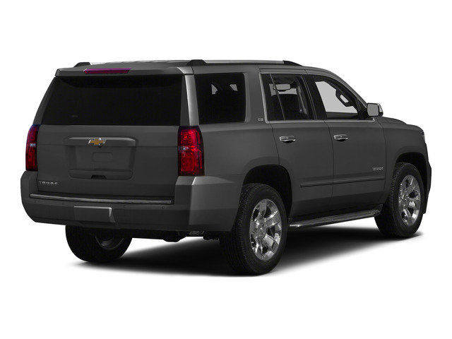 Slate Grey Metallic 2015 Chevrolet Tahoe Pictures Tahoe Utility 4D LT 4WD V8 photos rear view