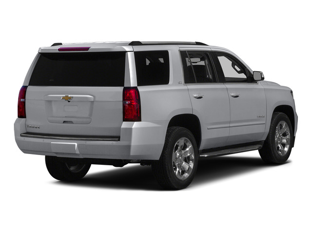 Silver Ice Metallic 2015 Chevrolet Tahoe Pictures Tahoe Utility 4D LT 4WD V8 photos rear view