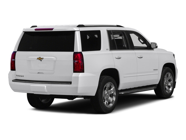 Summit White 2015 Chevrolet Tahoe Pictures Tahoe Utility 4D LT 4WD V8 photos rear view