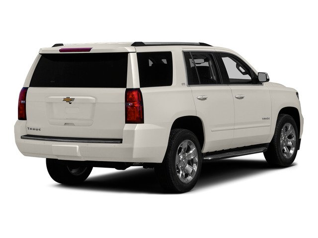 White Diamond Tricoat 2015 Chevrolet Tahoe Pictures Tahoe Utility 4D LT 4WD V8 photos rear view