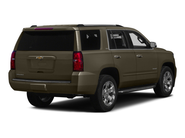 Brownstone Metallic 2015 Chevrolet Tahoe Pictures Tahoe Utility 4D LT 4WD V8 photos rear view