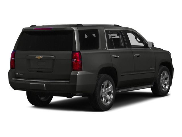Tungsten Metallic 2015 Chevrolet Tahoe Pictures Tahoe Utility 4D LT 4WD V8 photos rear view