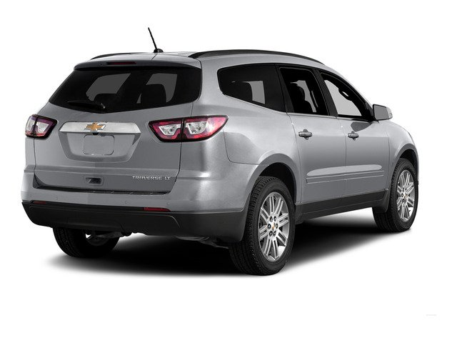Silver Ice Metallic 2015 Chevrolet Traverse Pictures Traverse Utility 4D LS AWD V6 photos rear view