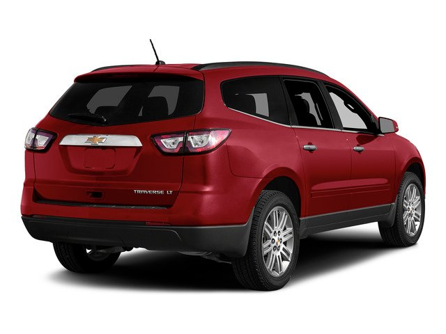 Siren Red Tintcoat 2015 Chevrolet Traverse Pictures Traverse Utility 4D 2LT AWD V6 photos rear view