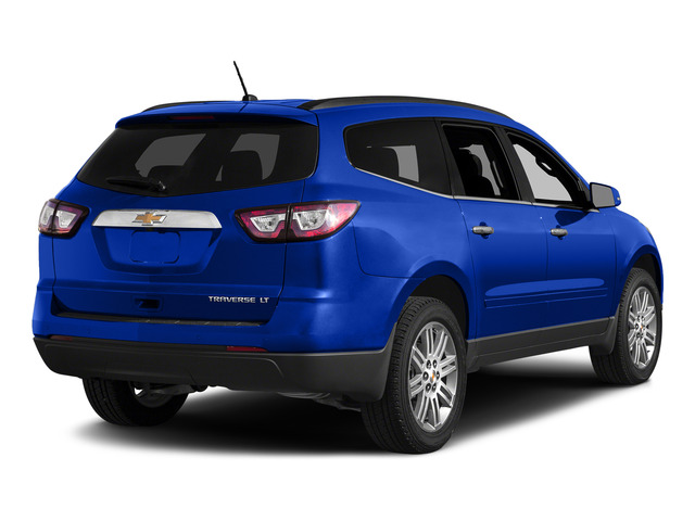 Blue Velvet Metallic 2015 Chevrolet Traverse Pictures Traverse Utility 4D LS AWD V6 photos rear view