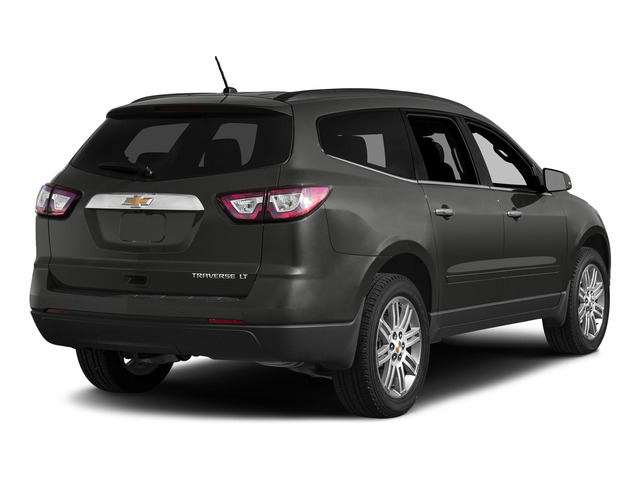 Tungsten Metallic 2015 Chevrolet Traverse Pictures Traverse Utility 4D LS AWD V6 photos rear view