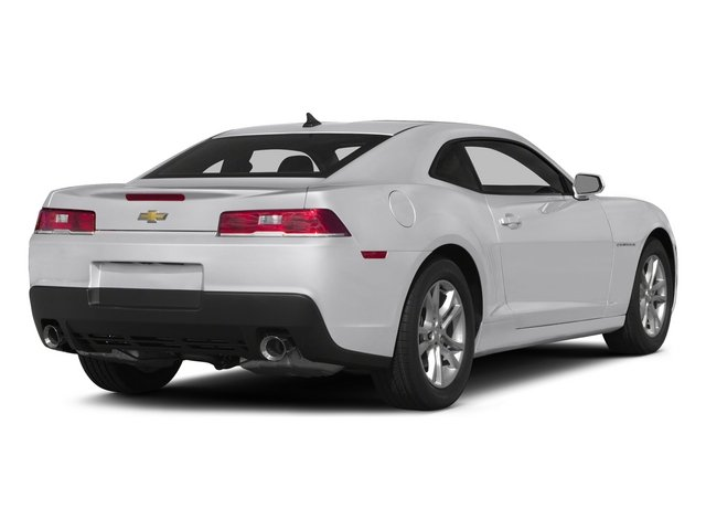 Summit White 2015 Chevrolet Camaro Pictures Camaro Coupe 2D Z28 V8 photos rear view