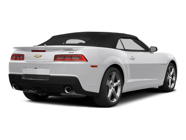 Summit White 2015 Chevrolet Camaro Pictures Camaro Convertible 2D SS V8 photos rear view