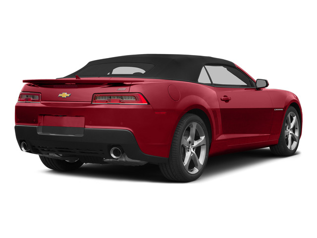 Crystal Red Tintcoat 2015 Chevrolet Camaro Pictures Camaro Convertible 2D SS V8 photos rear view