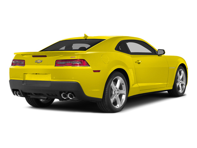 Bright Yellow 2015 Chevrolet Camaro Pictures Camaro Coupe 2D SS V8 photos rear view
