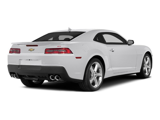 Summit White 2015 Chevrolet Camaro Pictures Camaro Coupe 2D SS V8 photos rear view