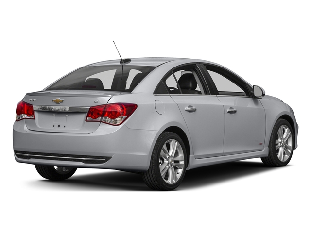 Silver Ice Metallic 2015 Chevrolet Cruze Pictures Cruze Sedan 4D 2LT I4 Turbo photos rear view