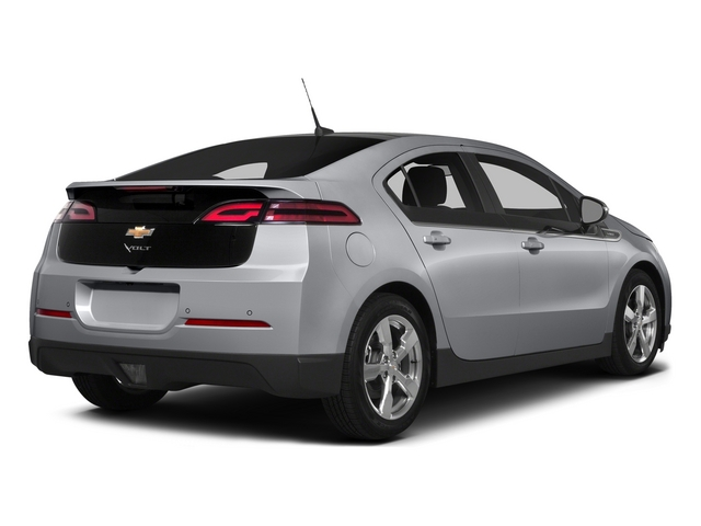 Silver Ice Metallic 2015 Chevrolet Volt Pictures Volt Sedan 4D Premium I4 Electric photos rear view