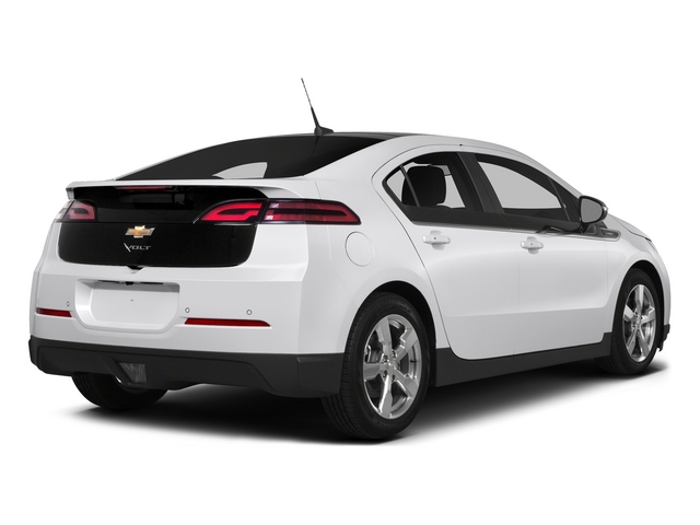 Summit White 2015 Chevrolet Volt Pictures Volt Sedan 4D Premium I4 Electric photos rear view