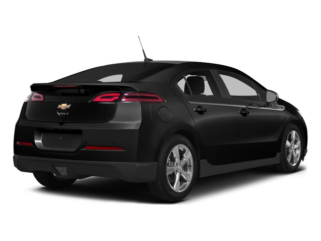 Black 2015 Chevrolet Volt Pictures Volt Sedan 4D Premium I4 Electric photos rear view