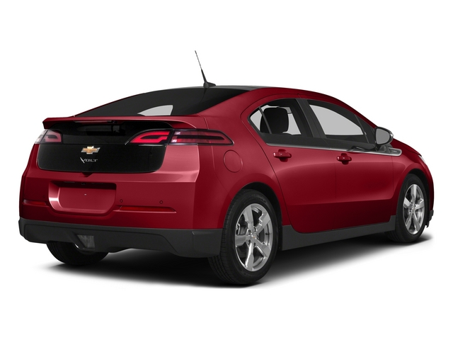 Crystal Red Tintcoat 2015 Chevrolet Volt Pictures Volt Sedan 4D Premium I4 Electric photos rear view