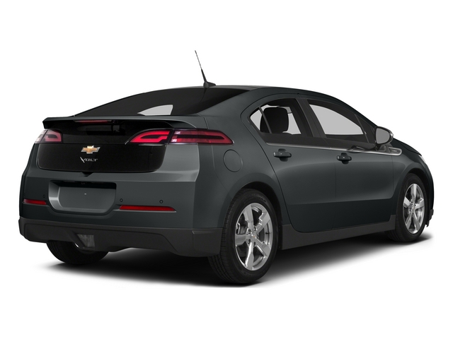 Ashen Gray Metallic 2015 Chevrolet Volt Pictures Volt Sedan 4D Premium I4 Electric photos rear view