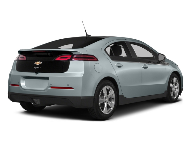 Silver Topaz Metallic 2015 Chevrolet Volt Pictures Volt Sedan 4D Premium I4 Electric photos rear view