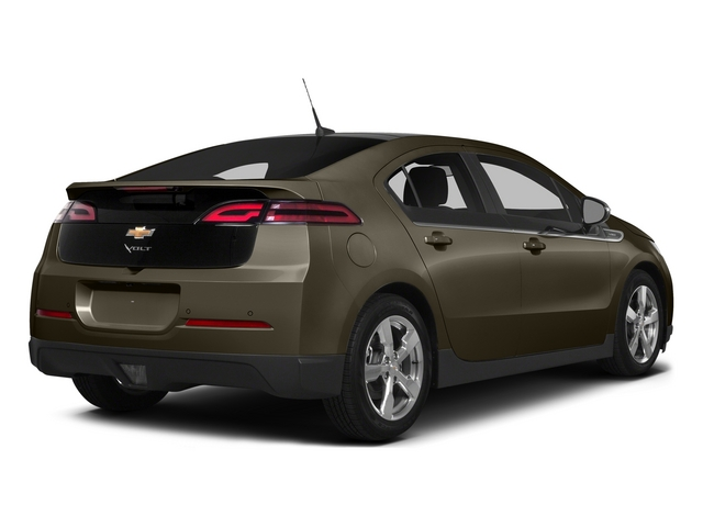 Brownstone Metallic 2015 Chevrolet Volt Pictures Volt Sedan 4D Premium I4 Electric photos rear view