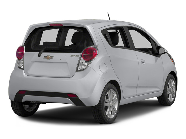 Silver Ice 2015 Chevrolet Spark Pictures Spark Hatchback 5D LS I4 photos rear view