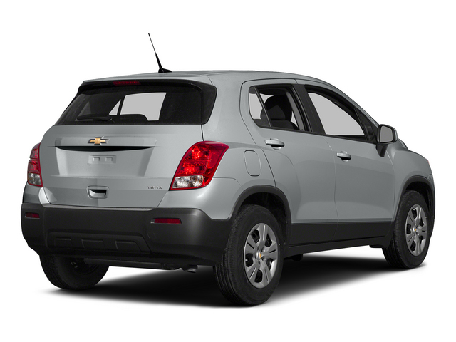 Silver Ice Metallic 2015 Chevrolet Trax Pictures Trax Utility 4D LS AWD I4 Turbo photos rear view