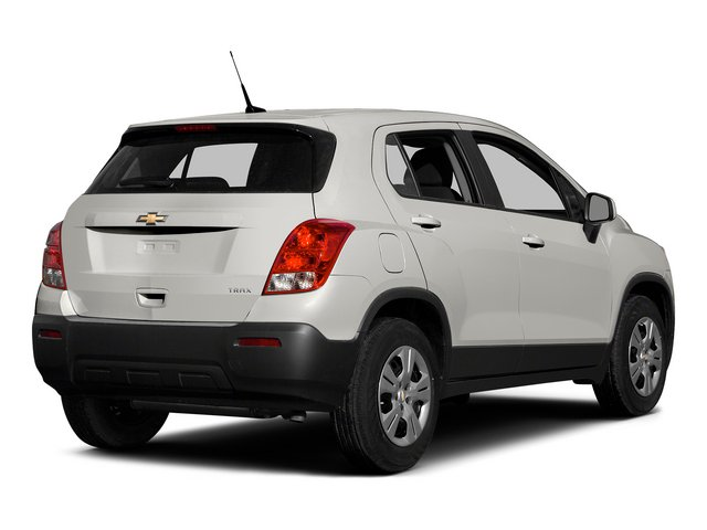 Summit White 2015 Chevrolet Trax Pictures Trax Utility 4D LS AWD I4 Turbo photos rear view