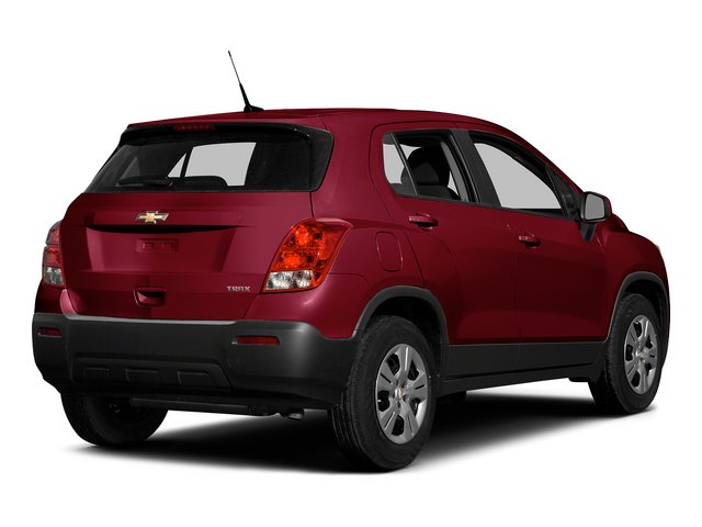 Ruby Red Metallic 2015 Chevrolet Trax Pictures Trax Utility 4D LS AWD I4 Turbo photos rear view