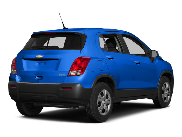 Brilliant Blue Metallic 2015 Chevrolet Trax Pictures Trax Utility 4D LS AWD I4 Turbo photos rear view