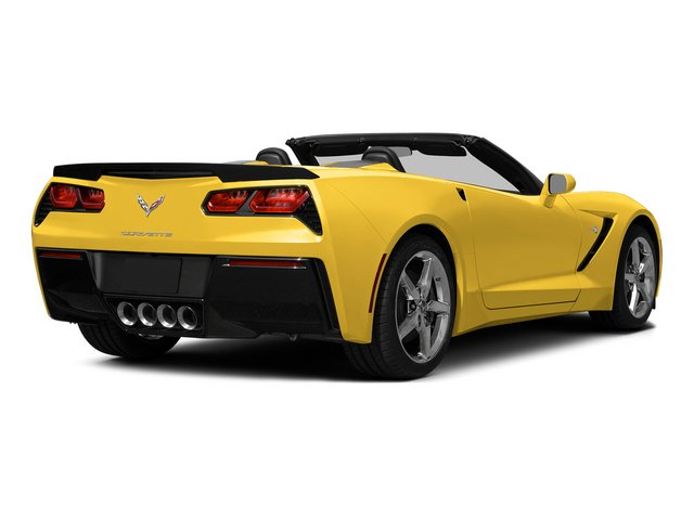 Velocity Yellow Tintcoat 2015 Chevrolet Corvette Pictures Corvette Convertible 2D Z51 3LT V8 photos rear view