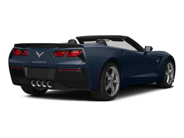Night Race Blue Metallic 2015 Chevrolet Corvette Pictures Corvette Convertible 2D Z51 3LT V8 photos rear view