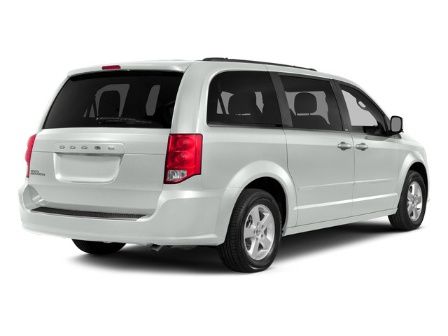 Bright White Clearcoat 2015 Dodge Grand Caravan Pictures Grand Caravan Grand Caravan SE V6 photos rear view