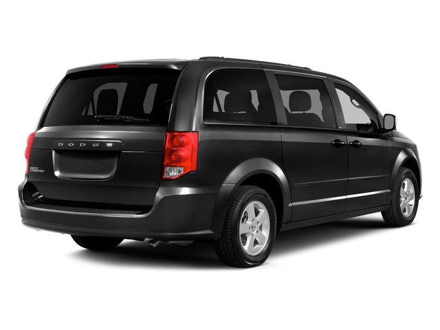 Brilliant Black Crystal Pearlcoat 2015 Dodge Grand Caravan Pictures Grand Caravan Grand Caravan SE V6 photos rear view
