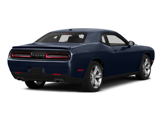 Jazz Blue Pearlcoat 2015 Dodge Challenger Pictures Challenger Coupe 2D R/T Plus V8 photos rear view