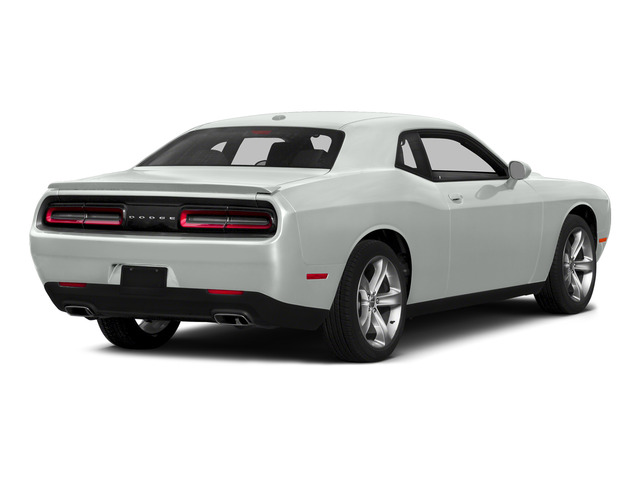 Bright White Clearcoat 2015 Dodge Challenger Pictures Challenger Coupe 2D R/T Plus V8 photos rear view