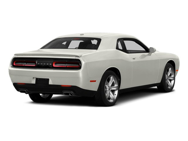 Ivory White Tri-Coat Pearl 2015 Dodge Challenger Pictures Challenger Coupe 2D R/T Scat Pack V8 photos rear view