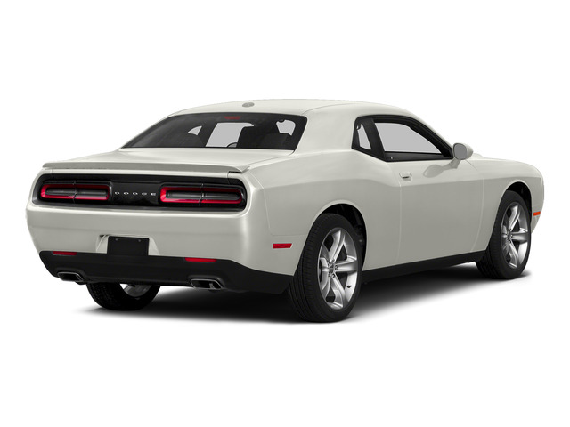 Ivory White Tri-Coat Pearl 2015 Dodge Challenger Pictures Challenger Coupe 2D R/T Plus V8 photos rear view