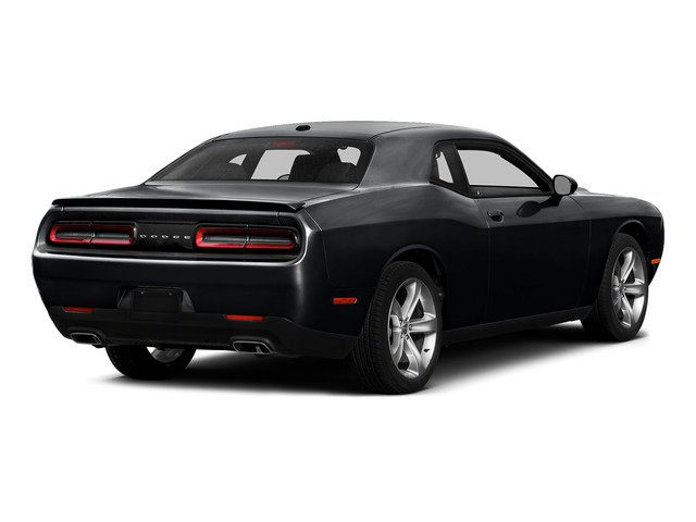 Phantom Black Tri-Coat Pearl 2015 Dodge Challenger Pictures Challenger Coupe 2D R/T Scat Pack V8 photos rear view