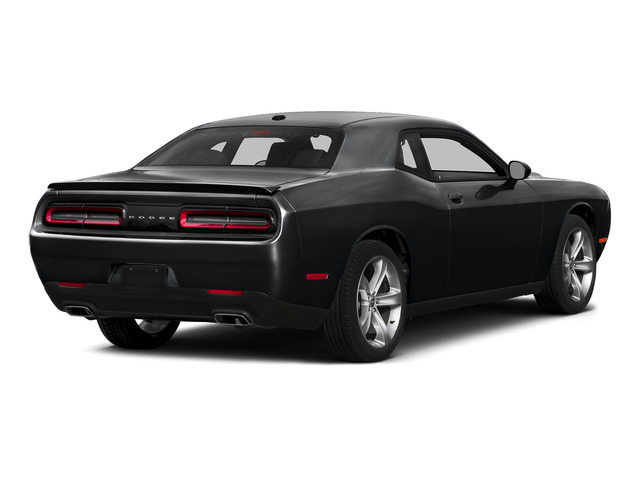 Phantom Black Tri-Coat Pearl 2015 Dodge Challenger Pictures Challenger Coupe 2D R/T Plus V8 photos rear view